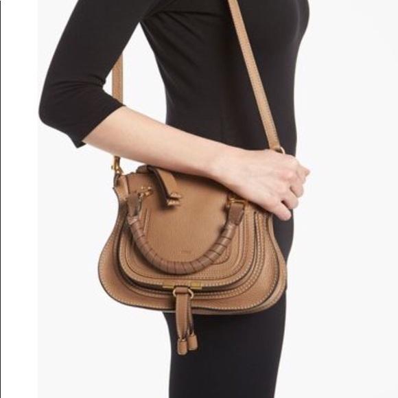 6fb839e3 Chloe Marcie Mini Satchel Crossbody bag